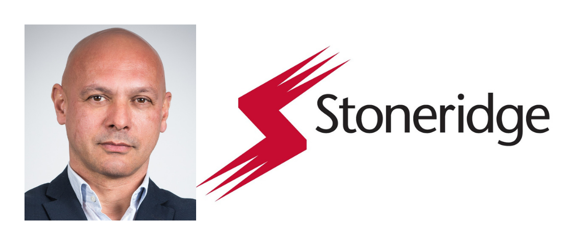Picture of Jean-Jacques Brossut and Stoneridge logo